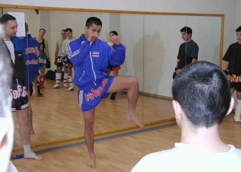 Stage CHALUNLAP au RMT Boxing